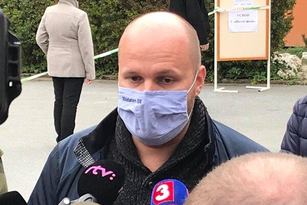 Minister obrany Jaroslav Naď prišiel do Bardejova.