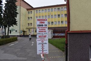 Nemocnica v Bardejove.
