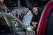 Špeciálny prokurátor Dušan Kováčik po štvrtkovom zadržaní v Bratislave.