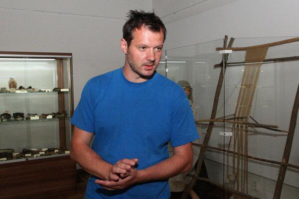 Archeológ Martin Kvietok