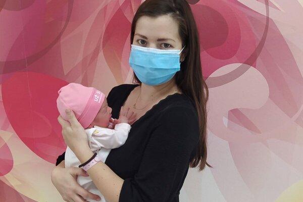 Malá Hanka je tisícim novorodencom vo zvolenskej nemocnici.