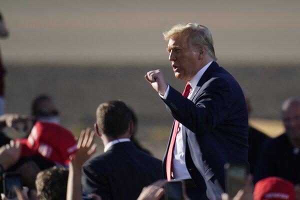 Prezident Spojených štátov Donald Trump.