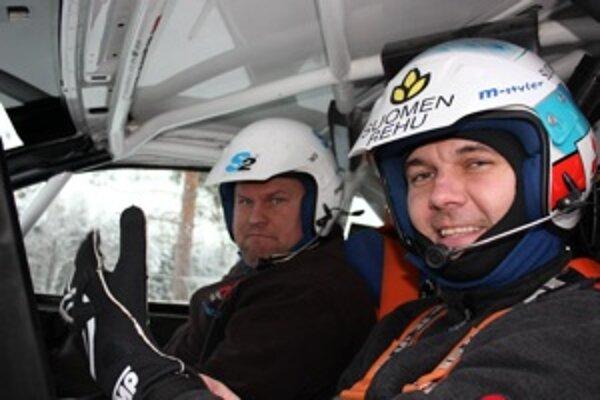 Jani Paasonen teraz vyčuje nováčikov. Má pätnásťročné skúsenosti s raly a päť rokov jazdil majstrovstvá sveta WRC.