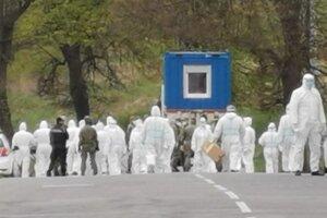 Testovacie tímy na Dreveníku počas prvej vlny koronavírusu.