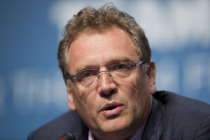 Bývalý generálny sekretár FIFA Jerome Valcke.