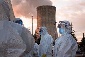 V elektrárni Mochovce testovali zamestnancov už v piatok 30. októbra.