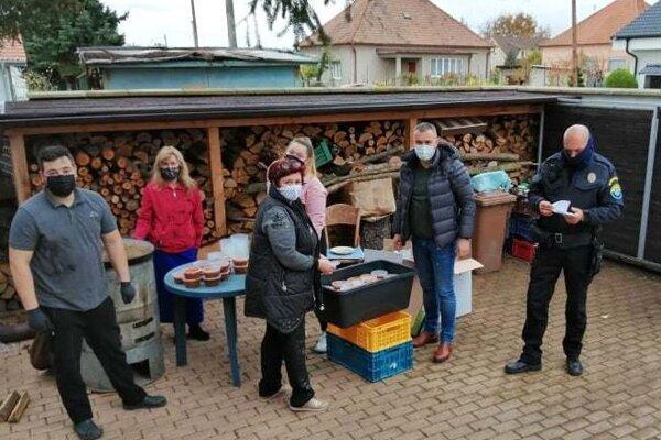Mesto Topoľčany pre všetky tímy zabezpečilo jedlo.