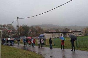 V obci Svrčinovec je zatiaľ účasť na testovaní dobrá.