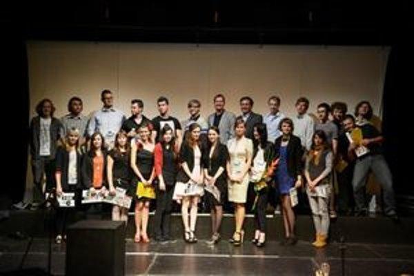 Víťazi národného kola súťaže Young, Creative, Chevrolet