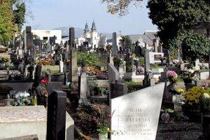 Mestský cintorín.