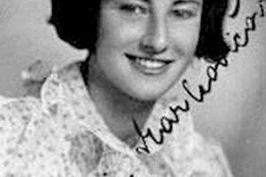 Mária Maarkovičová v mladosti