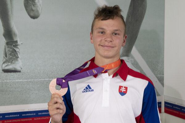 Dobré meno atletike na východe robí Spišiak Matej Baluch.