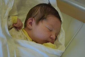 Ela Machalová (4130 g, 54 cm) sa narodila 1. novembra Dáši a Petrovi z Pruského.