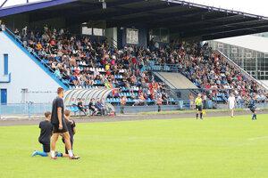 Na pohárovom zápase proti Púchovu prišlo šesť stoviek divákov.