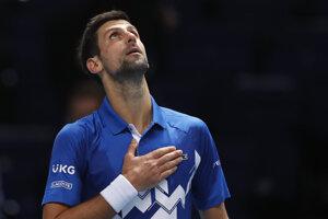 Srbský tenista Novak Djokovič.
