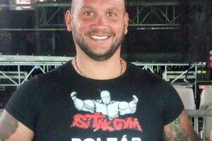 Peter Sitor, športovec, tréner a majiteľ Siťák gymu v Poltári.