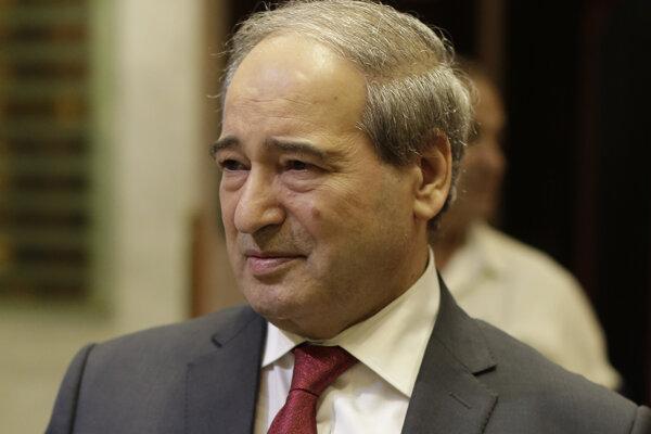 Nový sýrsky minister zahraničia Faisal Mikdád.
