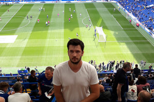 Juraj Šabík trénuje suveréna VII. C triedy z Čiernych Kľačian, z veľkých klubov má najradšej tím Chelsea Londýn.