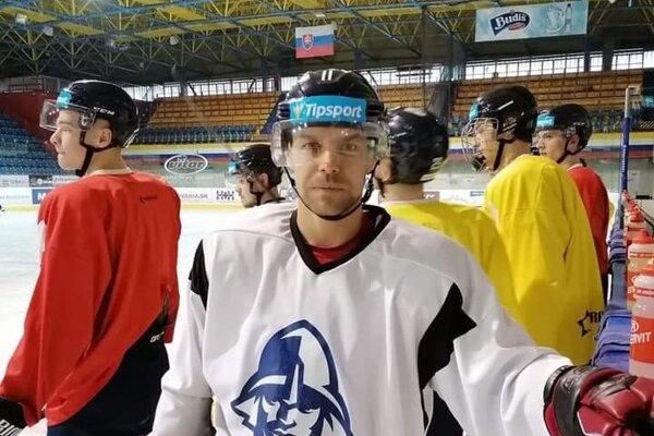 Rastislav Špirko v drese HK Martin.
