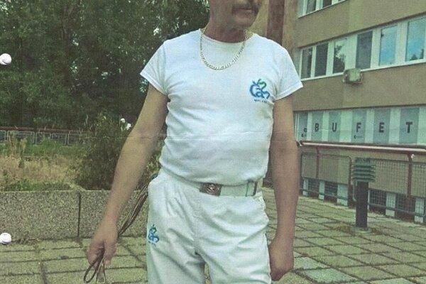 Hľadaný Tibor Chudý.