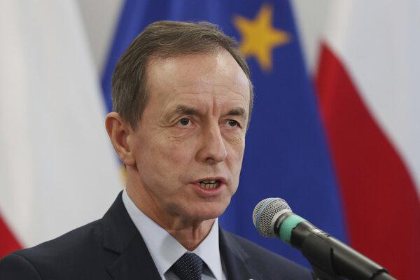 Predseda poľského senátu Tomasz Grodzki.