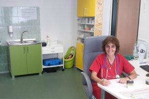 Pediatrička Eva Ševecová.