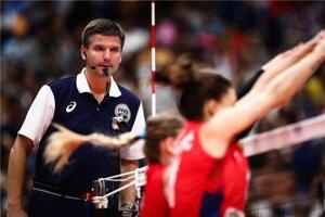 Juraj Mokrý rozhodoval aj finálový zápas ženských MS medzi Srbskom a Talianskom.