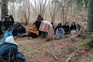 V lese pri Hornej Štubni objavila polícia utečencov zo Sýrie