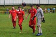 Podľa kapitána Martina Minarčíka (vľavo) nastal zlom v zápase s Liptovským Mikulášom.