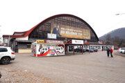 Zimný štadión v Banskej Bystrici - aktuálna podoba pred rekonštrukciou.
