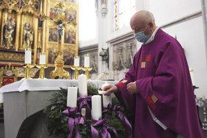 Advent v Dóme sv. Alžbety.