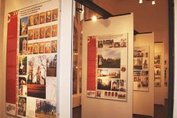 Výstava v synagóge potrvá do 2. októbra.