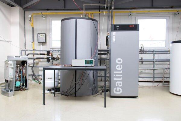 Zariadenie Hexis Galileo.