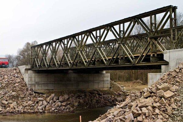 Takýto most postavia pri Kysaku.