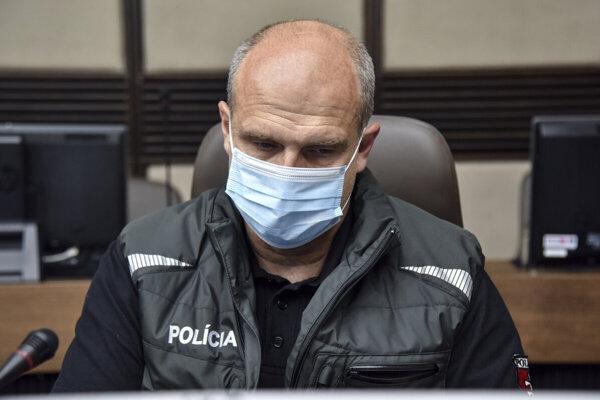 Bývalý prezident Policajného zboru SR Milan Lučanský.