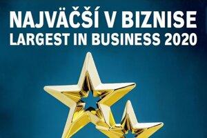 Titulka ročenky Najväčší v biznise