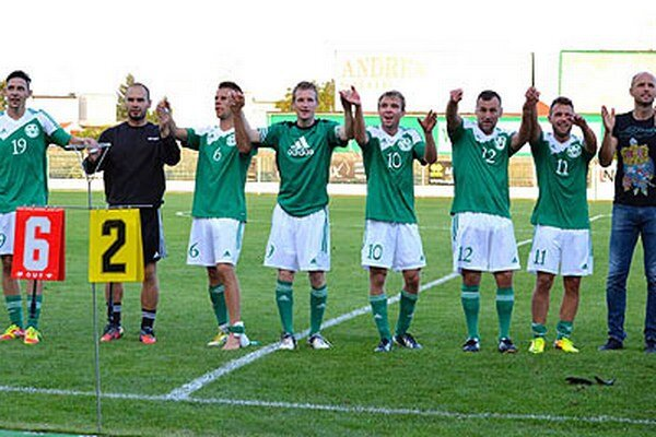 Futbalisti Veľkého Medera majú po 5 kolách na konte 13 bodov.