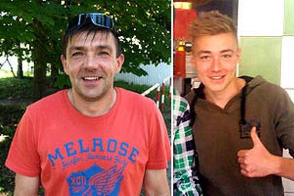 Otec Erik a syn Marek mohli byť s prvým majstrákom za Piešťany spokojní.