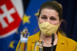 Hlavná odborníčka ministerstva zdravotníctva SR pre epidemiológiu Henrieta Hudečková.