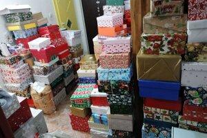Takto  vyzeral Mirkin byt pár týždňov pred Vianocami.