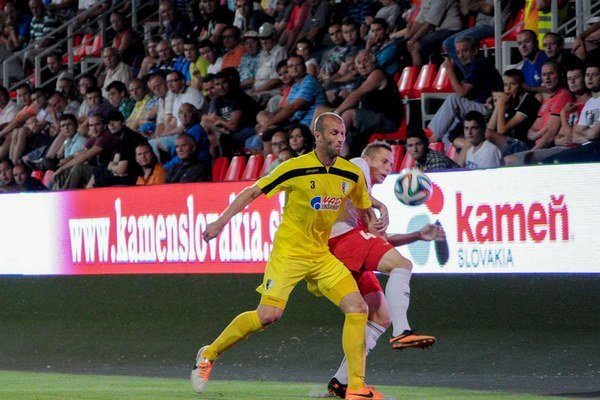Zlaté Moravce porazili Myjavu tesne 1:0.
