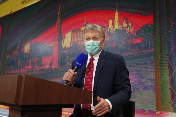Hovorca ruského prezidenta Vladimira Putina Dmitrij Peskov.