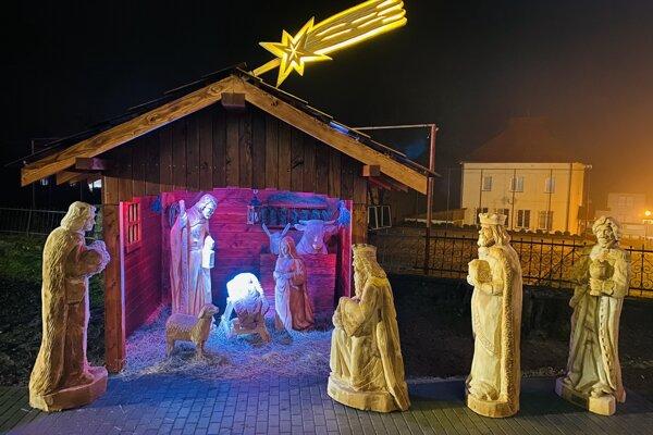 Betlehem vo Vysokej nad Kysucou.