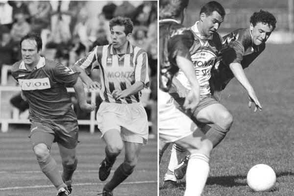 Archívne snímky zo štvrtoligových zápasov: FC ViOn - Tovarníky a Chrenová - Tovarníky.