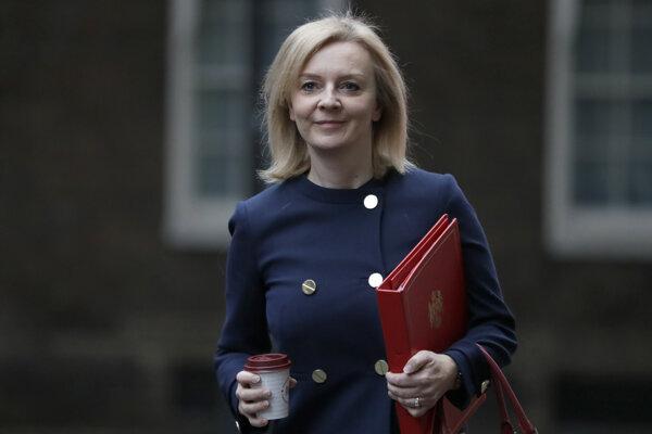 Liz Trussová, britská ministerka obchodu.