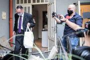 Disciplinárnej komisii Generálnej prokuratúry čelil ajbývalý generálny prokurátor Dobroslav Trnka. (23.6.2020)