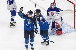 Hokej Slovensko - Fínsko na MS v hokeji do 20 rokov 2021 LIVE dnes.