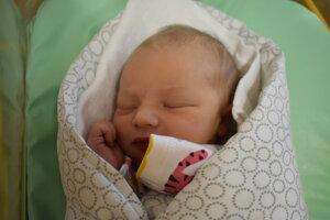 Vivien Roberts (3200 g, 50 cm) sa narodila 21. decembra Lucii a Phillipovi z Chorvátskeho Grobu.