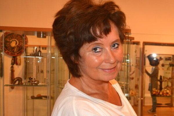 Etnografka Klaudia Buganová.