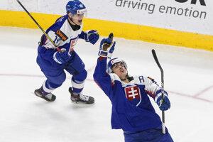 Michal Mrázik strelil na MS v hokeji do 20 rokov 2021 dva góly.